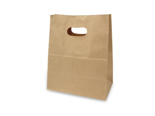 イーグリップ袋S(グリップ付角底袋)
